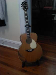 craigslist vintage guitar hunt 1955 k27 jumbo acoustic in richmond va for 220. Black Bedroom Furniture Sets. Home Design Ideas