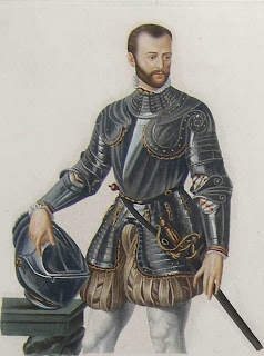 As a young man, Alfonso fought in the service of Henry II of France