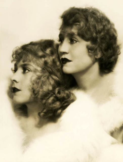 Vivian and Rosetta Duncan by Ruth Harriet Louise, 1928