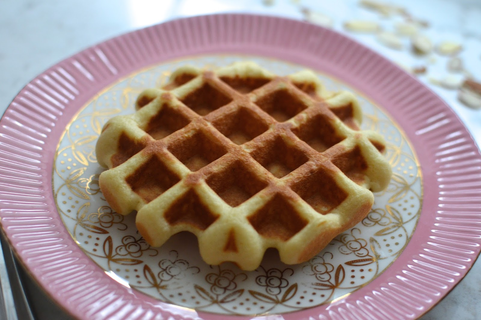 how to make waffle batter with flour