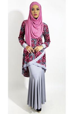 Baju atasan dan bawahan wanita muslimah masa kini