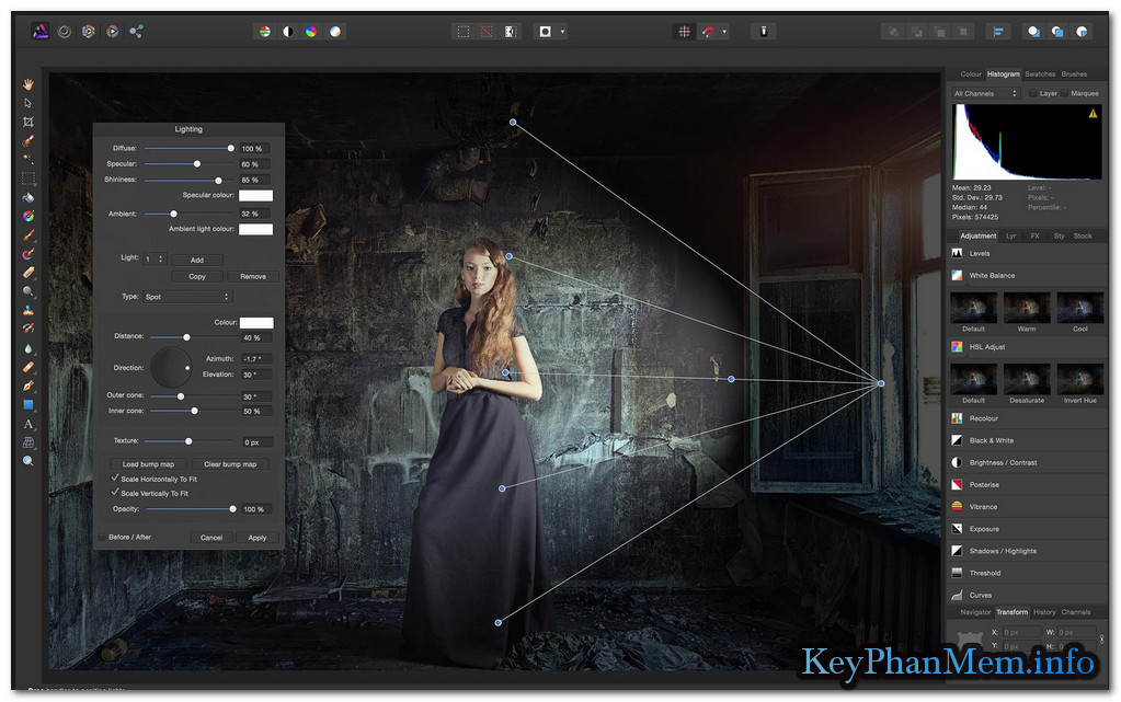Download Serif Affinity Photo 1.6.4.104 Full Key, Ma thuật dành cho bức ảnh của bạn