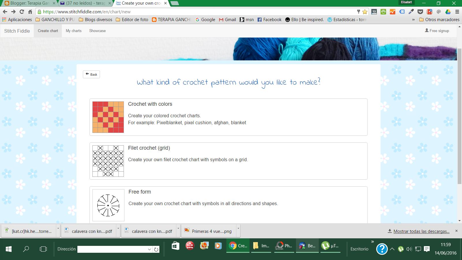 Como hacer tus gráficos y patrones de crochet - Handbox Craft Lovers ...