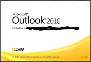 Ms Outlook Hangs on startup Contacting External Servers