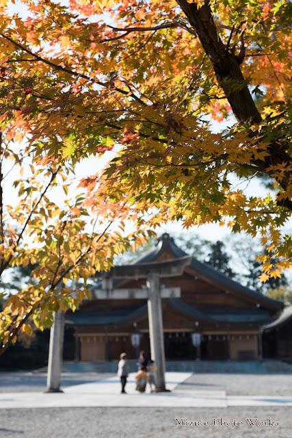 富山県護国神社七五三
