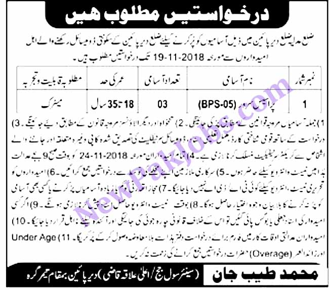 Matric-level-Jobs-in-District-and-Session-Court-Oct-2018