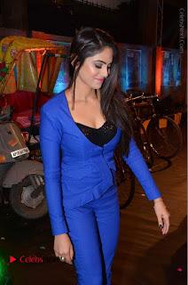 Actress Naina Ganguly Stills in Blue Dress at RGV Shiva to Vangaveeti Event  0023.JPG