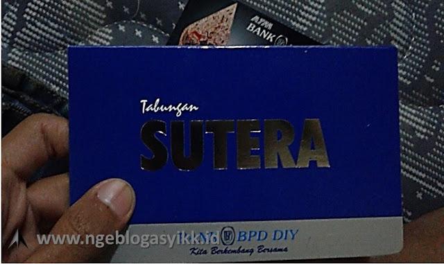 buku Tabungan bank Sutera BPD DIY