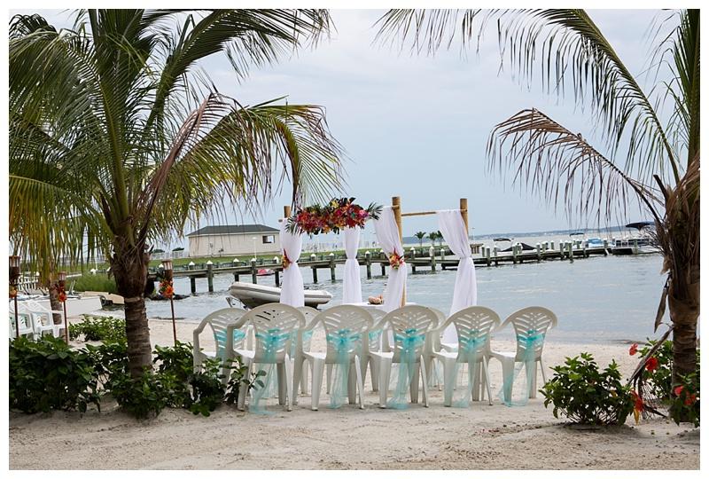 Princess Bayside Ocean City Md Beach Wedding Barefoot Bride Dana Marie Photography Photographer