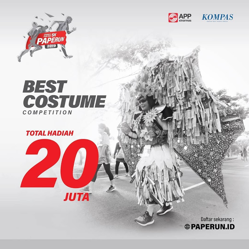 Costume COmpetition Paperun 2019