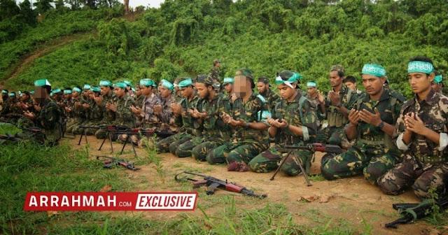 Makin Ditindas Rezim, Muslim Rohingya Mulai Angkat Senjata!