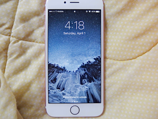 Dearlyintrovert: My Review of the iPhone 6s