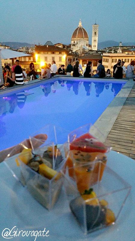 Una serata d\'estate a Firenze al Grand Hotel Minerva: aperitivo con ...