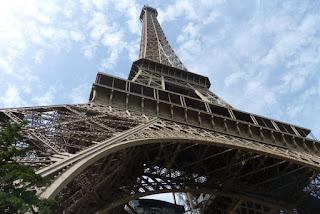 La Torre Eiffel de París.