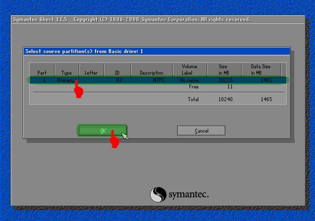 Cara Membuat File Image OS Windows XP Dengan Norton Ghost