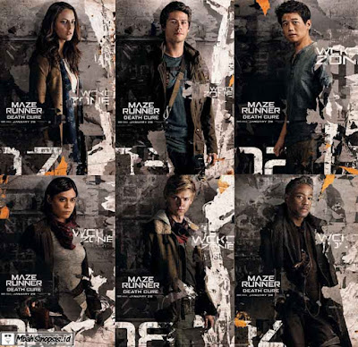 Film Maze Runner The Death Cure 2018