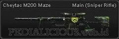 Cheytac M200 Maze