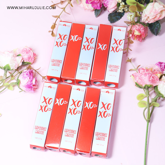 Face2Face cosmetics XOXO Matte Lipstick Review & Swatch
