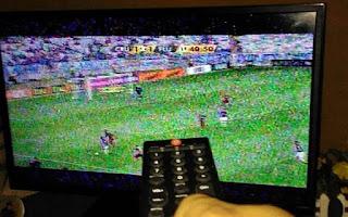 Sinal analógico de TV desligado