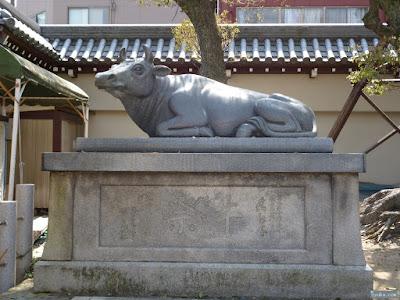 大阪天満宮祭牛