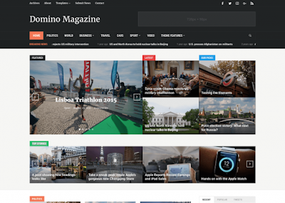 Domino Magazine WordPress Theme - WPZOOM Free Download