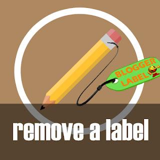 Menghapus Label