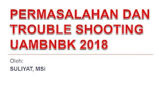 Trobleshooting UAMBNBK 2