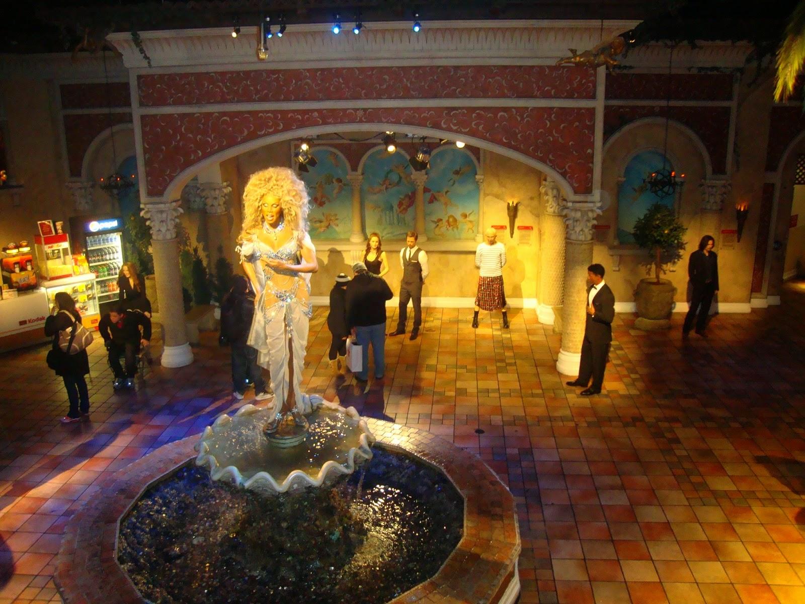 Museu de cera Madame Tussauds em Nova York