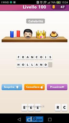 Emoji Quiz soluzione livello 100