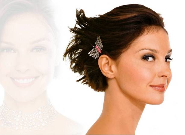 Unique Short Hairstyles: Wedding Hairstyles: January 2014