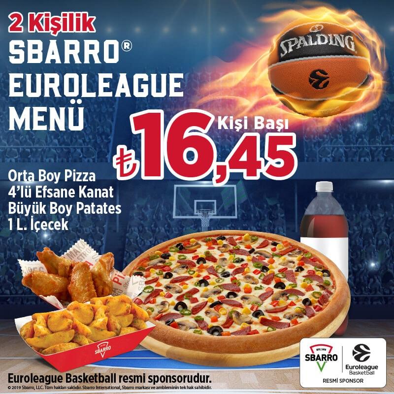 Sbarro Pizza Menü Fiyat Listesi Ve Kampanyalar Mekan Arama Motoru