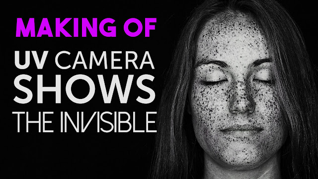 UV Camera Shows the Amazing Secrets Hidden in Your Skin