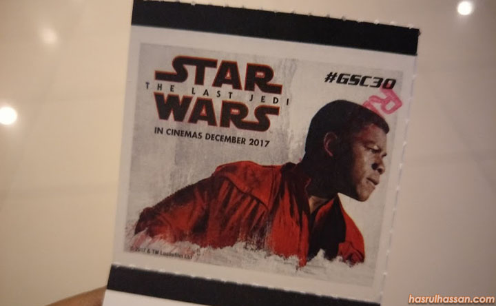 Review Star Wars The Last Jedi - Hanya 3 Bintang