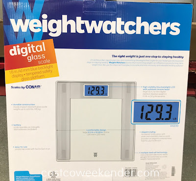 Weight Watchers Digital Glass Scale: great for any bathroom