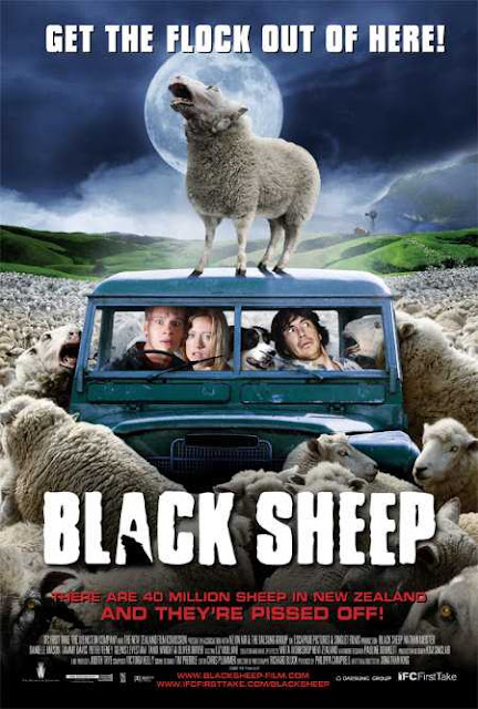 Poster Black Sheep 2006 Full Movie Download Dual Audio Hindi 720p