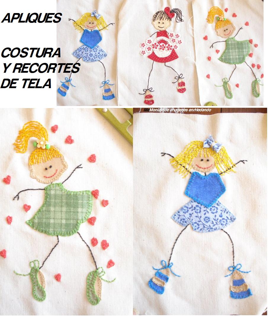 Apliques en las camisetas tunear y personalizar camisetas - Apliques infantiles de pared ...