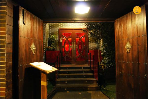 Entrada Restaurante El Bund Madrid Arturo Soria