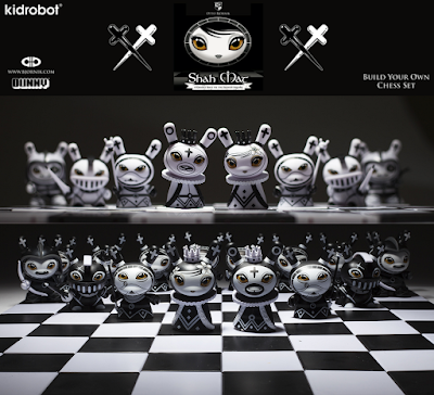 Shah Mat Dunny Chess Series by Otto Bjornik x Kidrobot