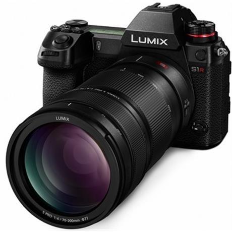 Panasonic Lumix S1R c объективом 70-200mm f/4