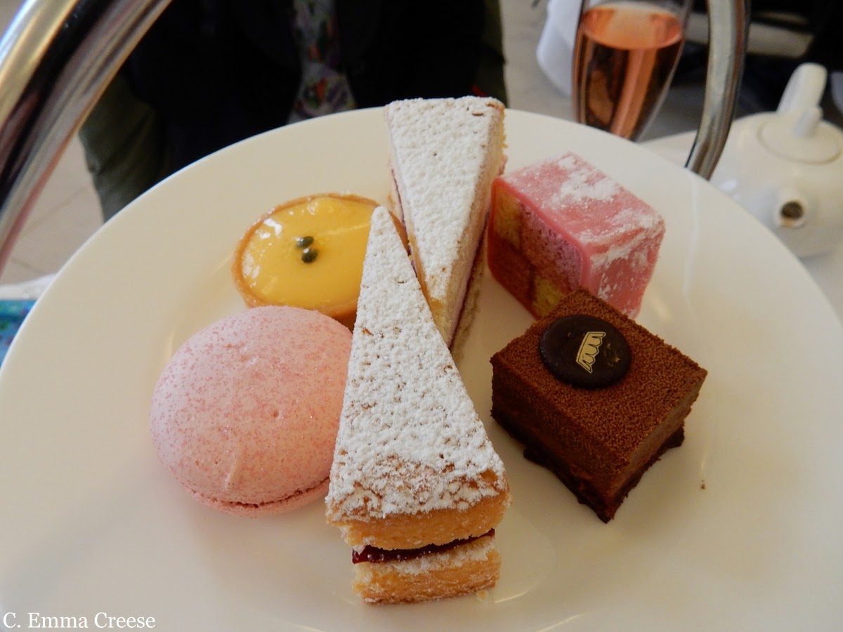 A pinkie-raising Kensington Orangery Afternoon Tea
