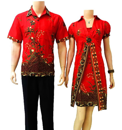 Gambar Model Batik Sarimbit Terbaru 2013: Batik Sarimbit Dalam Aneka Model Baju Batik Modern