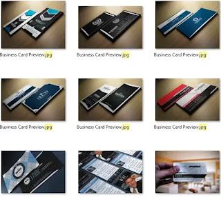 تحميل مجموعة من كروت البزنس business cards الحديثة التصميم - هارد المصمم العملاق3