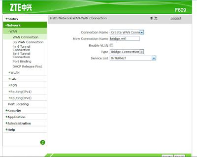 Memanfaatkan Modem FO ZTE F609 Sebagai Akses Point Mikrotik 32