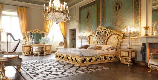 Phòng ngủ mang phong cách tân cổ điển châu âu sang trọng