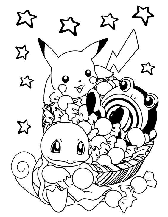 Tranh tô màu Pokemon 71