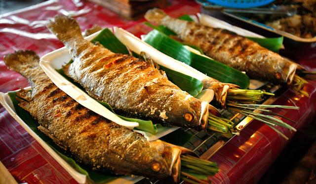 Pa pỉnh (cá nướng)