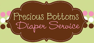 Precious Bottoms Diaper Service Logo