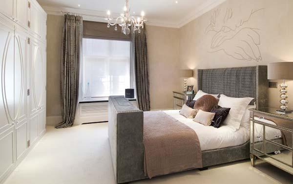 decoracion dormitorios en colores neutros. Black Bedroom Furniture Sets. Home Design Ideas