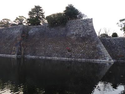 大阪城 内堀