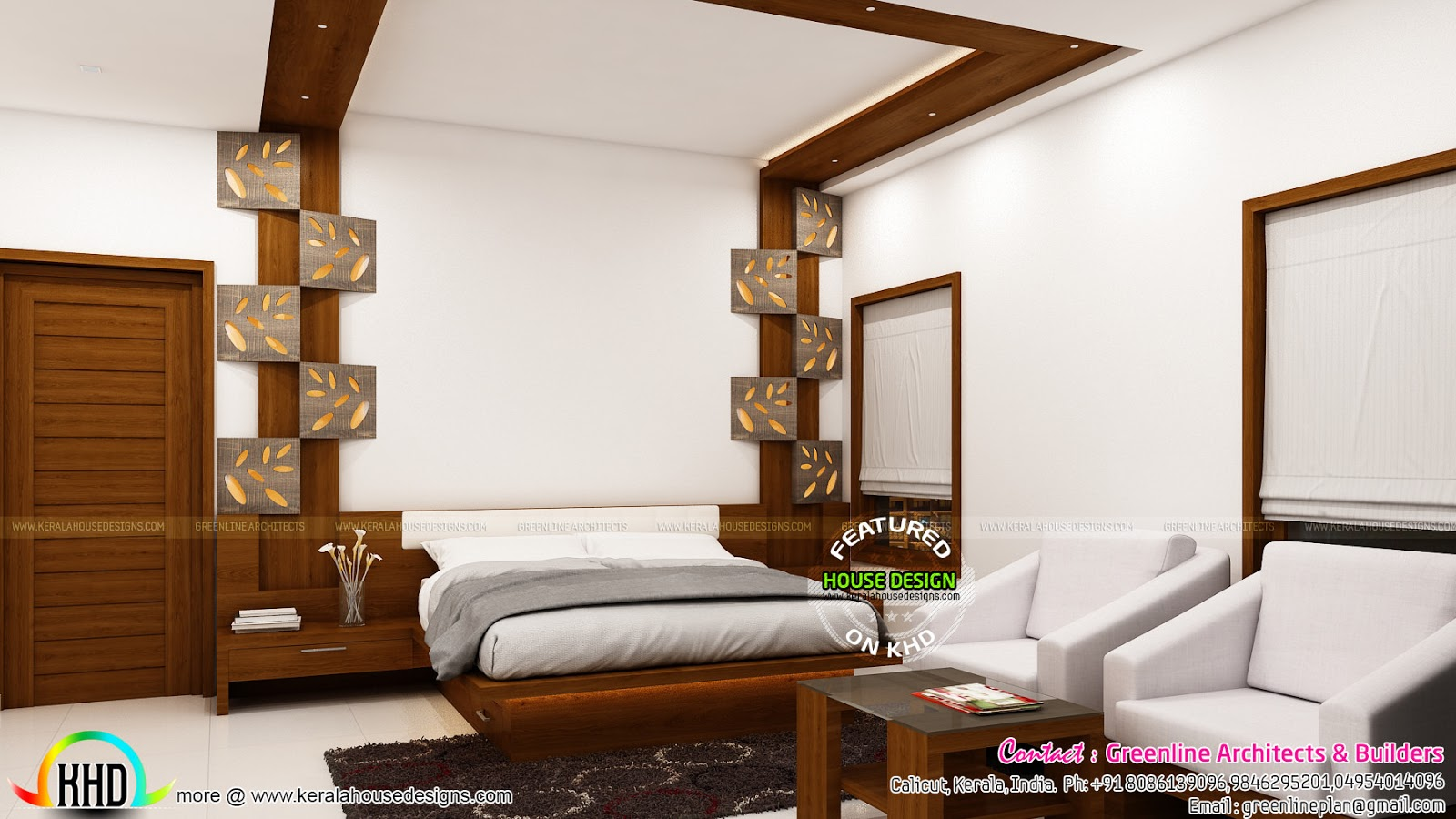 July 2016 kerala home design and floor plans for Bedroom designs tamilnadu